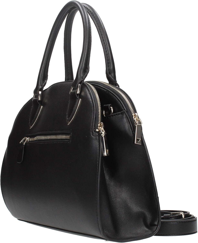 GUESS Women's Sherol Cali Satchel Bag Schwarz_schwarz, Schwarz