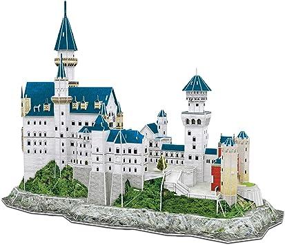 CubicFun Puzzle 3D Castillo de Neuschwanstein Schwangau Alemania,121 Piezas: Amazon.es: Juguetes y juegos