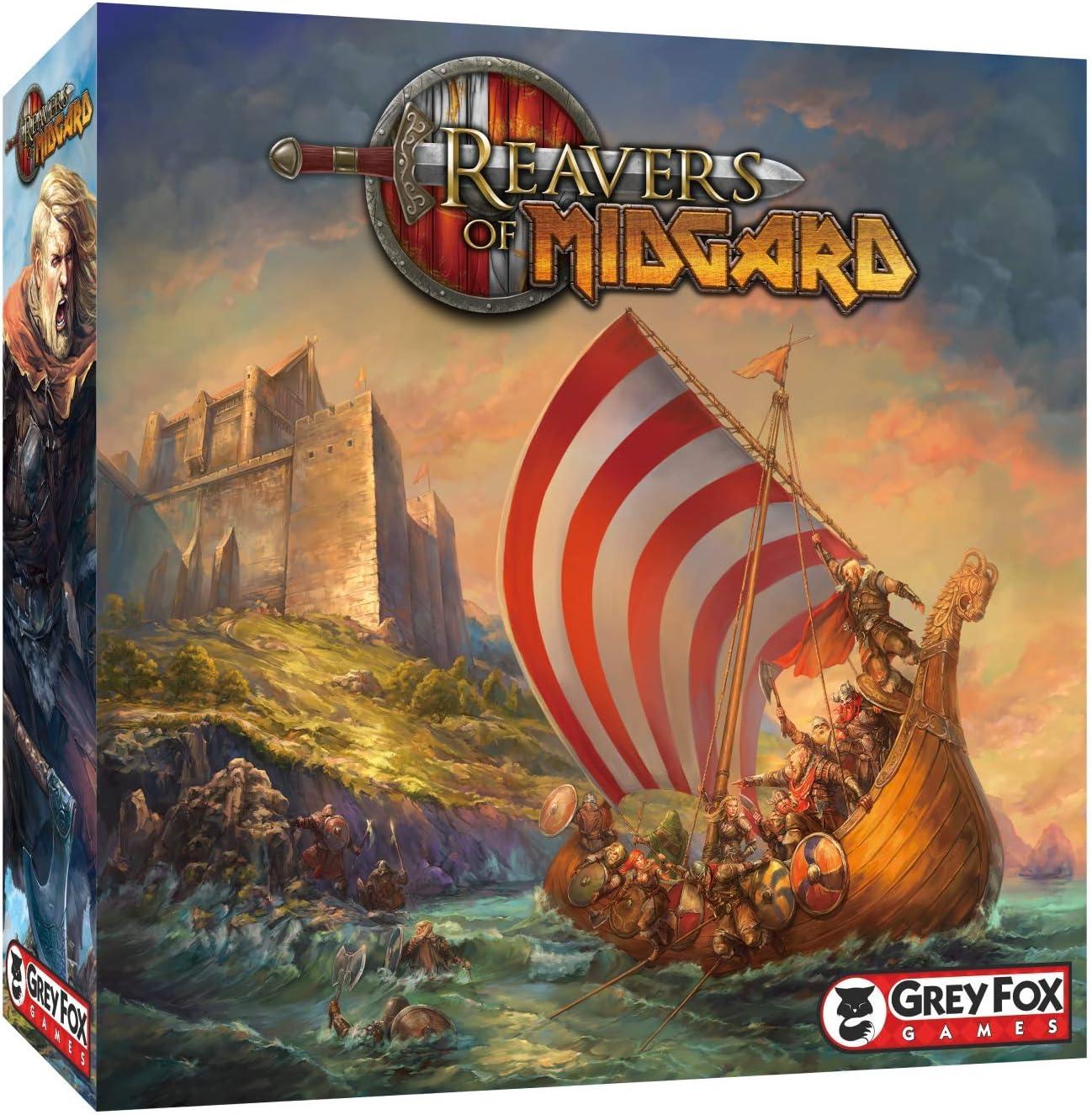 Grey Fox Games Reavers of Midgard Board Game