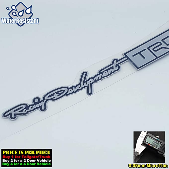 4169CHGD-L 150mm x 25mm//1 Piece Motorsports Chrome Gold Car Door Sill Scuff Plate Decal Badge Emblem Step Board Sticker Side Trunk Auto Metal Nickel Micro Ultra Thin Graphic TOTUMY