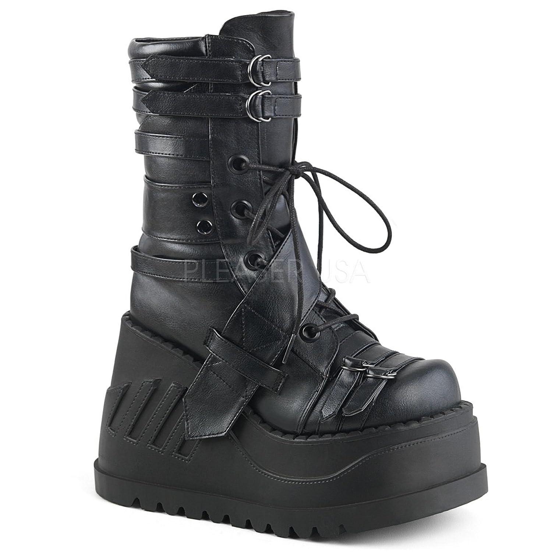 Demonia DEMONIAW Womens STOMP-26/BVL Boots B078MQ4GGB 8 B(M) US