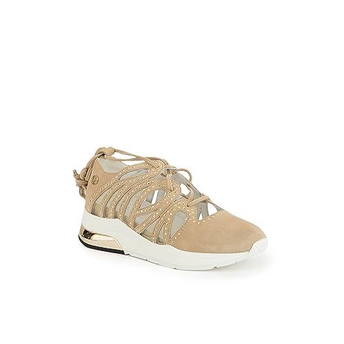 dd24fe952d590 Liu Jo Scarpe Donna Sneakers Sara Sand B18023P007901127  MainApps   Amazon.it  Scarpe e borse