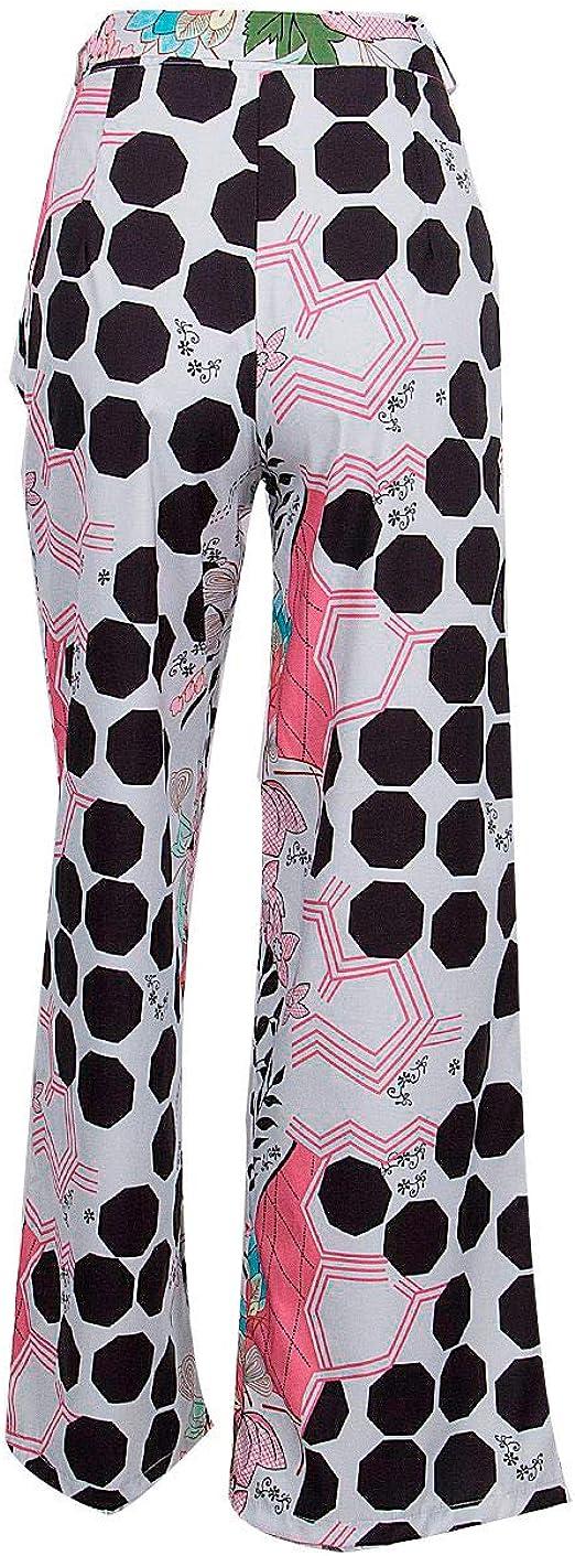 RISTHY Pantalones Casuales de Las Mujeres Pantalones Acampanados ...