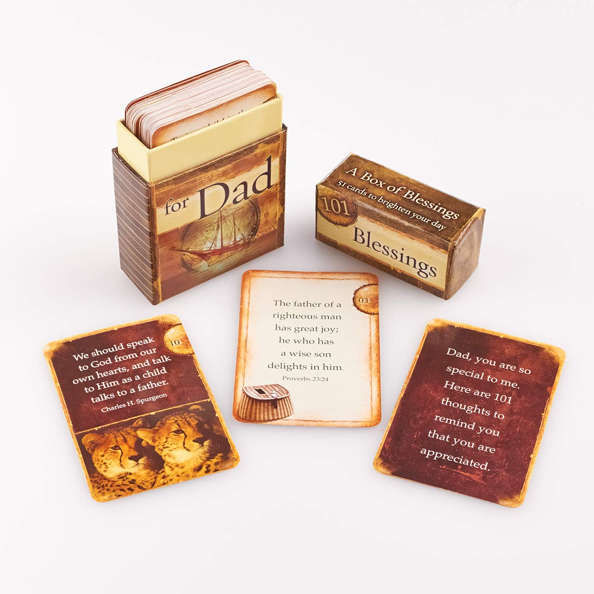 101 Blessings for Dad Cards - A Box of Blessings (Boxes of Blessing):  Christian Art Gifts: 6006937083134: Amazon.com: Books