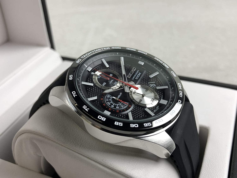 Herren Silikon Quarz Chronograph Uhr Ssb287p1 Mit Seiko Armband PTiXkZwOu