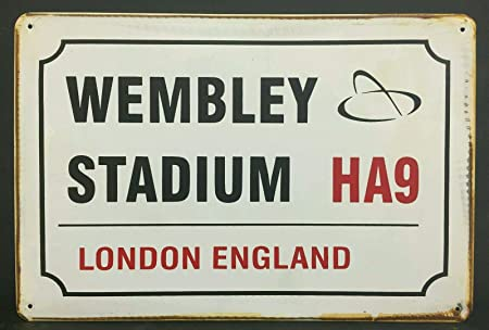 Plough Lane Wimbledon Vintage Style Metal Sign Football  Vintage Sign