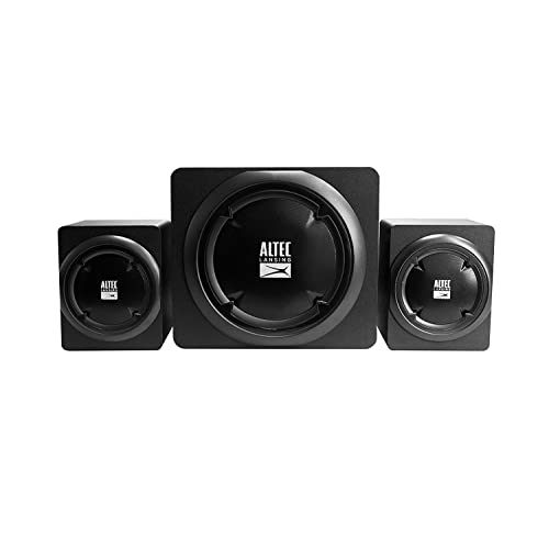 Altec Lansing Helix 2 1 Speakers 39W Negro Conjunto de Altavoces Set de Altavoces 39 W PC Negro 13 1 cm 12 8 cm 16 4 cm