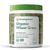 Deals on Amazing Grass Organic Wheat Grass Powder 8.5oz