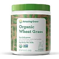Amazing Grass Polvo Para Preparar Bebida De Hierba De Trigo 240G, Pack Of 1