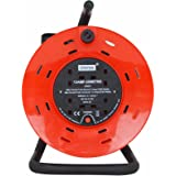 Status 13 A 4 Socket Cable Reel with Thermal Out
