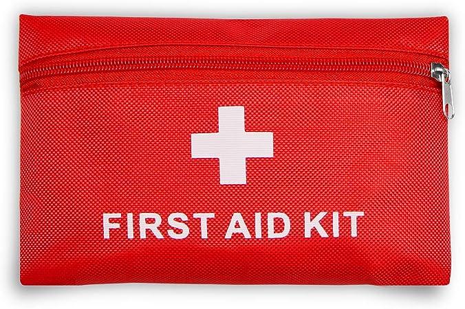 Botiquín de primeros auxilios con 42piezas, bolsa médica portátil ...