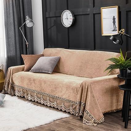 SCEDGJDVXBB Plush Sofa slipcover,Sofa Cushion Covers Furniture Protector  for 1 2 3 4 Cushions Sofa Sofa Cover Full Cover Anti-Slip Sofa ...