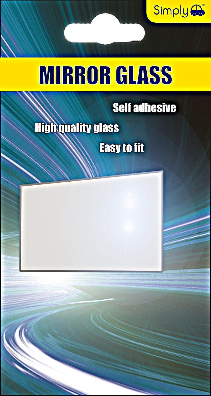 Einfach VM01 Kosmetikspiegel Glas, 150 x 80 mm