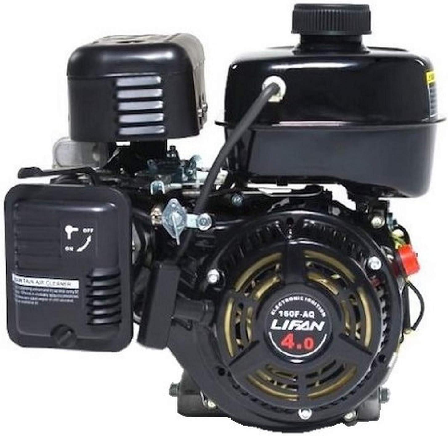 Lifan LF160F-AQ 4 HP 118cc 4-Stroke OHV Industrial Grade Gas Engine with 3/4