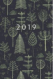 Agenda 2019: Agenda Semanal | Tamaño Bolso A5 | 12 Meses ...