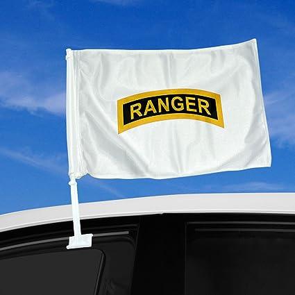 Double-Sided Army Car Flag