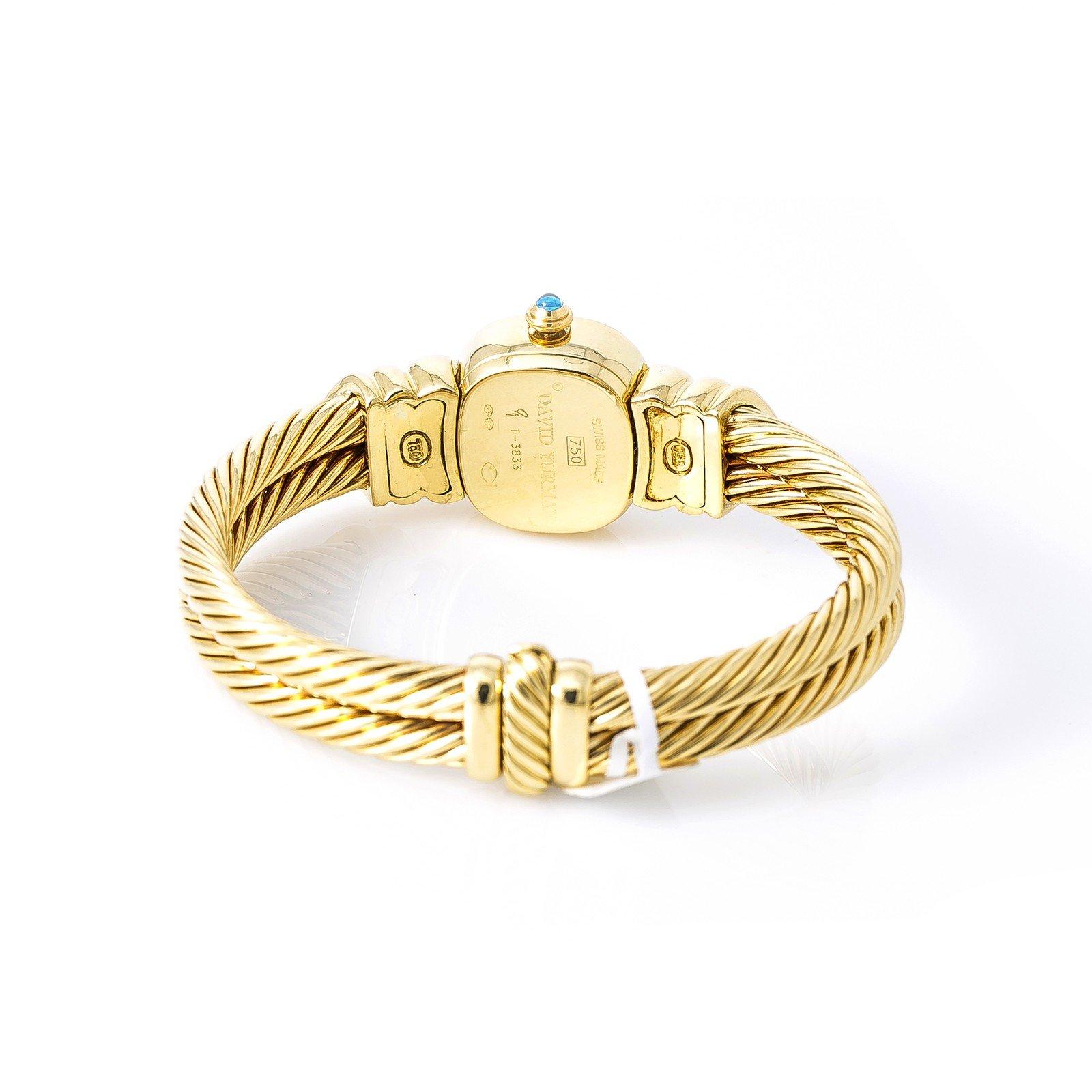 David Yurman Bangle Watch quartz womens Watch T-3833 (Certified Pre-owned) by David Yurman (Image #2)