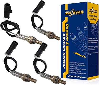 4pcs O2 Oxygen Sensor Front Rear Left  Right Down//Upstream For Ford Mercury NEW