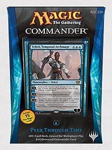 Magic The Gathering Commander 2014 Peer Through Time Deck
