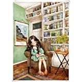 500 1000 Piece Wooden Educational Toys for Teens Kids,Forest Girl Diary Jigsaw Puzzle,Relieve Stress Toy for Adults (Size : 500 Pcs)