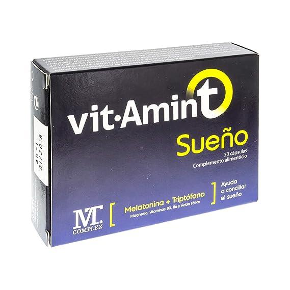 Vitamin-t Sueño Complemento Alimenticio - 30 Cápsulas: Amazon.es: Salud y cuidado personal