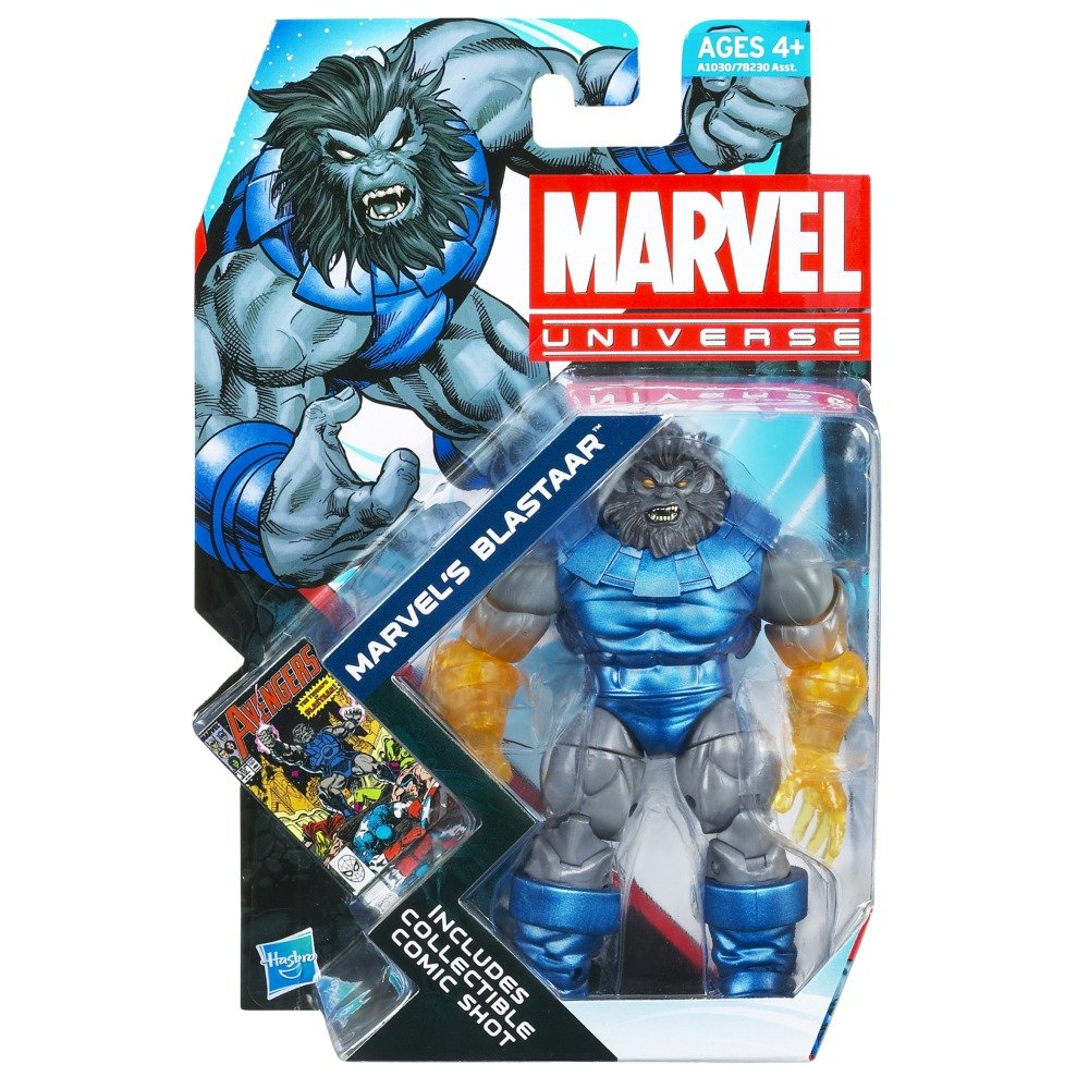 Marvel Universe Blastaar Series 4 Figure #24 Variant with Glowing Forearms and Hands