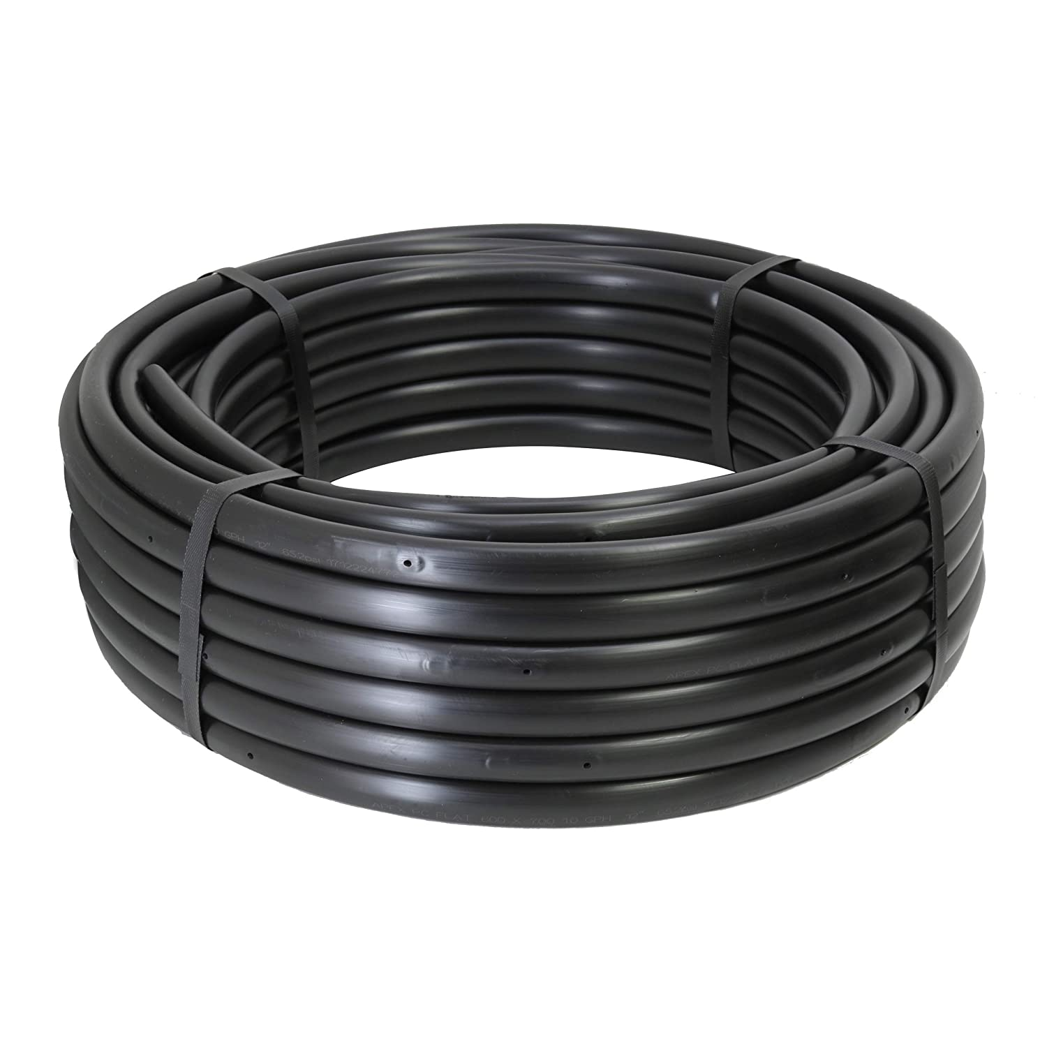 1//2 Poly Dripline 12 Spacing 0.5 GPH 100 Roll Pressure Compensating