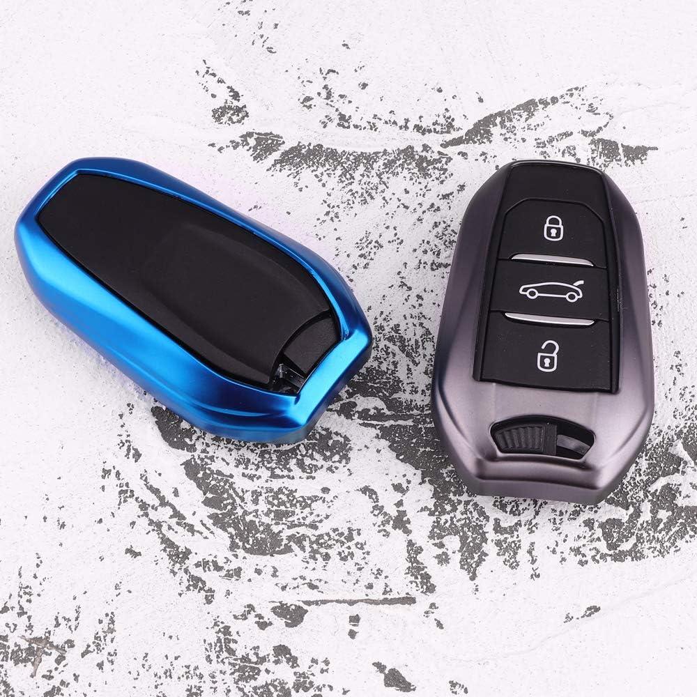 KAKTUS Citroen Peugeot DS Coque de Protection pour cl/é de Voiture Intelligente Seulement pour la Version Keyless Go