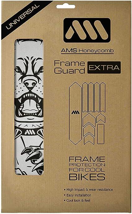 Mountain Bike AMS Frame Guard Creative Bike Frame Protection All Guard Sticker