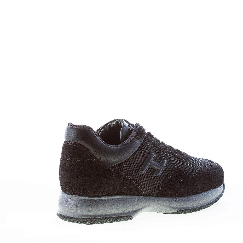 e3837245cfe55 Hogan Men Shoes Interactive Black Suede tech Fabric Sneaker  HXM00N0U041H18B999  Amazon.co.uk  Shoes   Bags