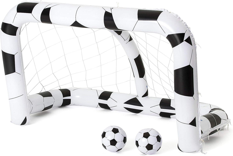 porterías hinchables para la práctica del deporte por parte de los más pequeños