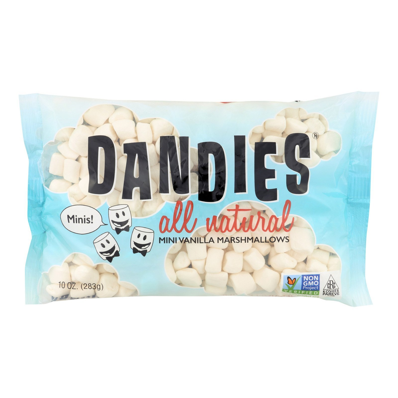 Dandies Vanilla Mini Marshmallow, 10 Ounce - 12 per case. by Dandies