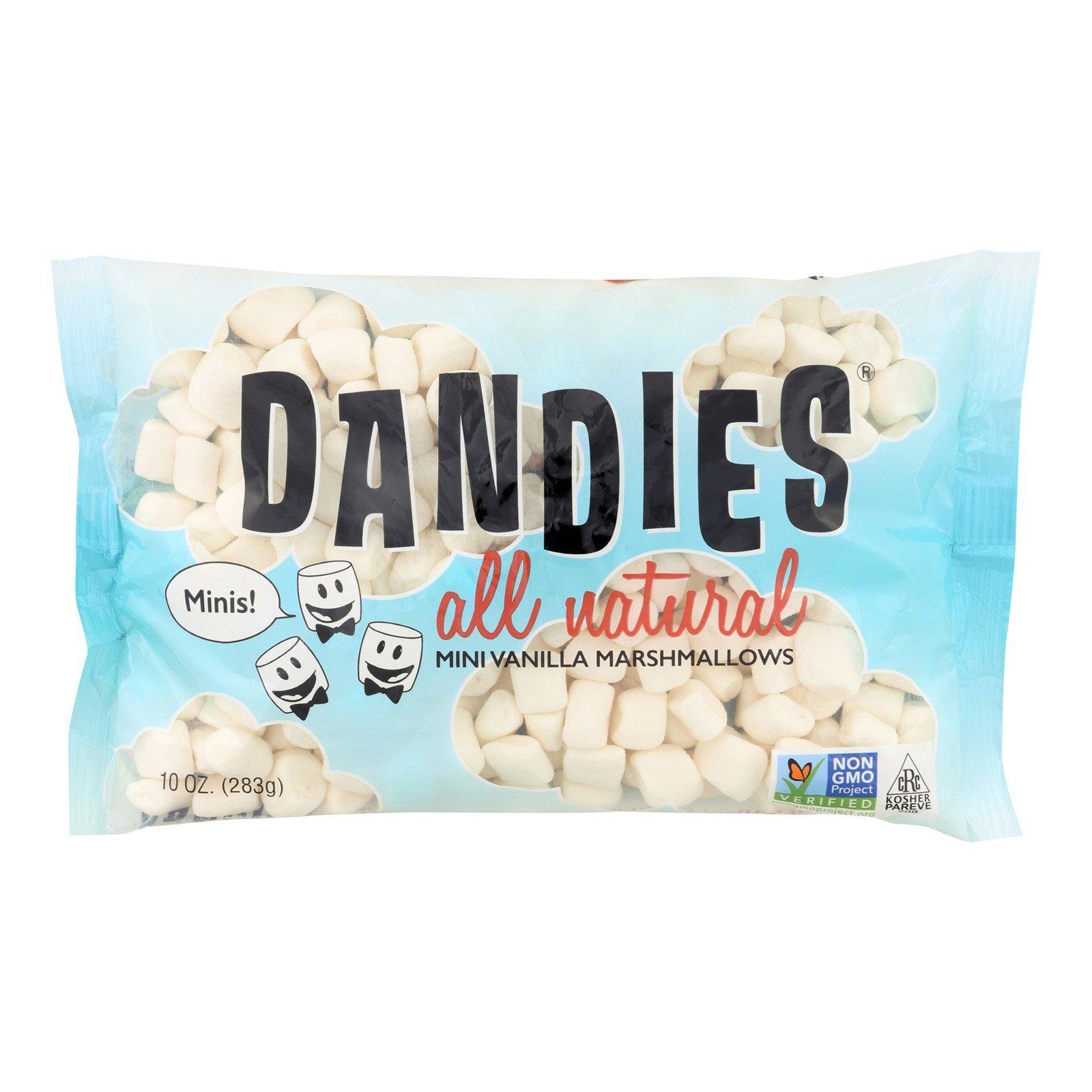 Dandies Vanilla Mini Marshmallow, 10 Ounce - 12 per case.