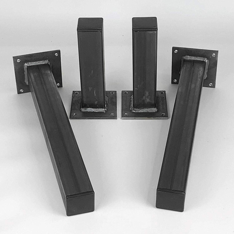 BMF Direct® - Juego de 4 patas rectas de acero para soporte de ...