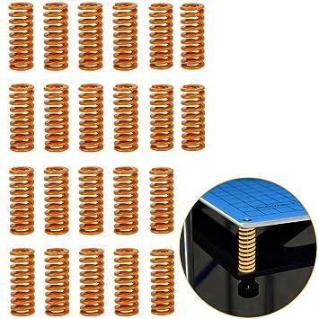 RUNCCI-YUN 22 Piezas Resortes de Compresión de Impresora 3D OD ...