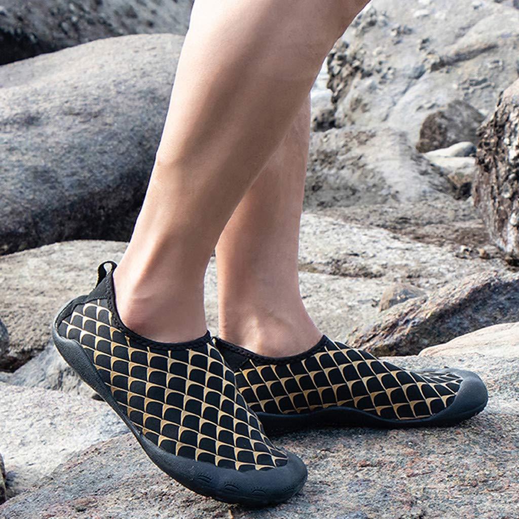 Summer Men Quick Dry Aqua Socks Barefoot Outdoor Beach Swim Yoga Flat Water Shoe