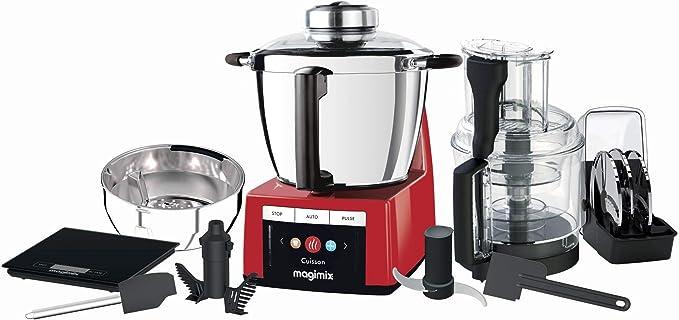 Magimix - Cook Expert 18900 - Robot de cocina multifunción tamaño estándar rojo: Amazon.es: Hogar