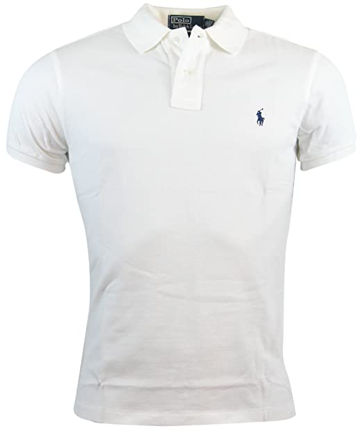 the best attitude d930c 7a244 Polo Ralph Lauren Mens Custom Fit Mesh Polo Shirt