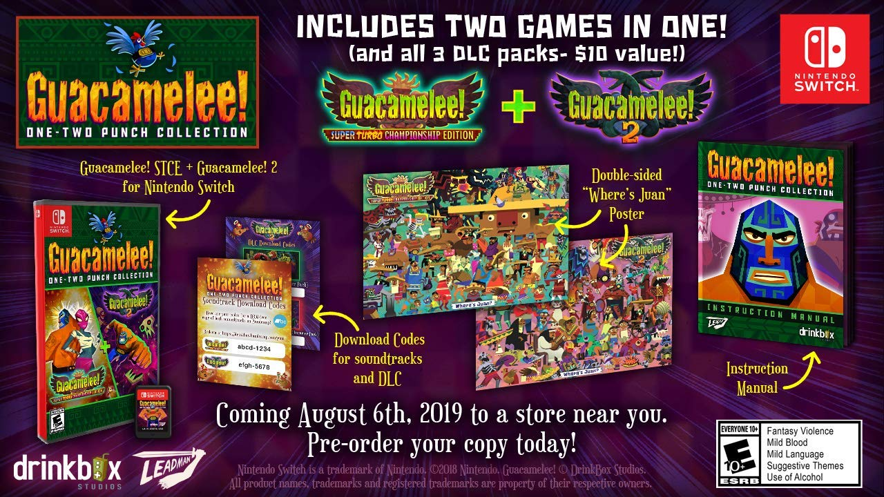 Guacamelee! One-Two Punch Collection for Nintendo Switch USA ...