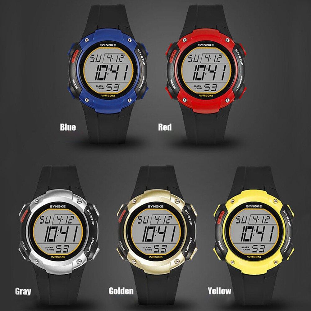 856store Big Promotion Sports Men Alarm Chronograph Date Waterproof Luminous Digital Wrist Watch Gift by 856store (Image #3)