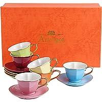 Artvigor 6 Juegos de Tazas de Café/Té