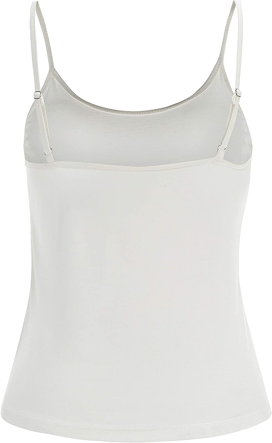 Naturally99 Womens Lace Mesh Blouses 9045T Including Sleeveless Premium Rayon Span Jersey Camisol Top Knit Shirts