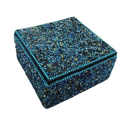 Caja de joyas decorativas accesorios para mujeres estuche de ...