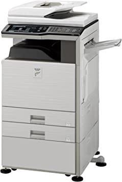 Amazon Com Sharp Mx 2600n Tabloid Size Color Laser Multifunction Copier 26ppm Copy Print Scan 11x17 2 Trays Cabinet Electronics