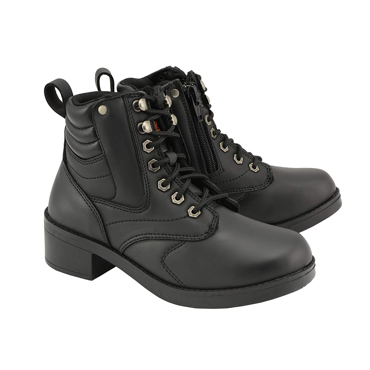 Milwaukee Leather Boys Boots Black 4