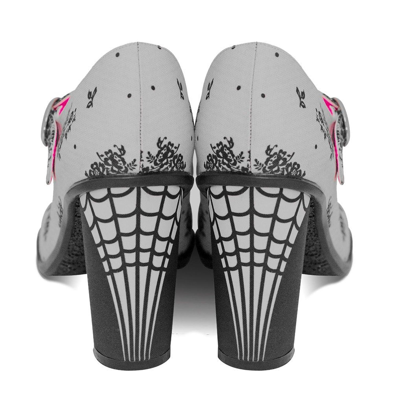 Amazon.com | Hot Chocolate Design Chocolaticas High Heels Spider Web  Women's Mary Jane Pump Multicoloured HCD 35 | Pumps