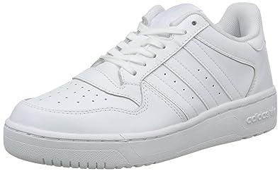 adidas Attitude Revive, Baskets Basses Femme, Blanc (FTWR White/FTWR White/FTWR White), 36 2/3 EU