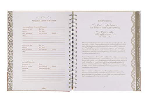 Amazon.com: C.R. Gibson Wedding Planner, Moments: Home & Kitchen