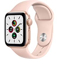 $247 » New Apple Watch SE (GPS, 40mm) - Gold Aluminum Case with Pink Sand Sport Band