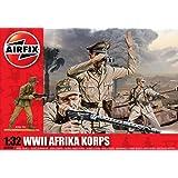 Airfix - WWII Afrika Korps, set de figuras (Hornby A02708)